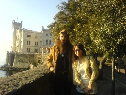 Josh and Chee, Miramare Trieste