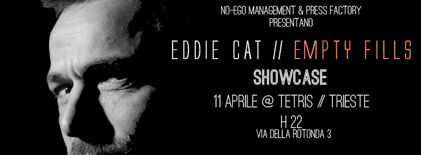 "EDDIE CAT ""Empty Fills"" showcase al Tetris di Trieste, 11 Aprile 2013"