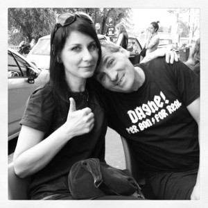 Eva Poles e Stefano Edda Rampoldi