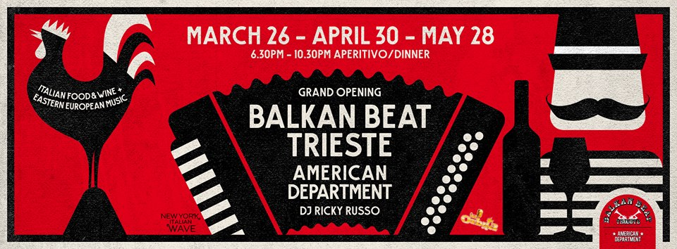 BALKAN BEAT TRIESTE IN ORBITA A NEW YORK CITY!