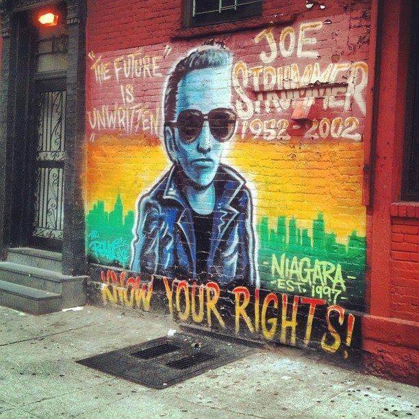 RICKY RUSSO DJ AL NIAGARA BAR DI NEW YORK, 25 APRILE 2015