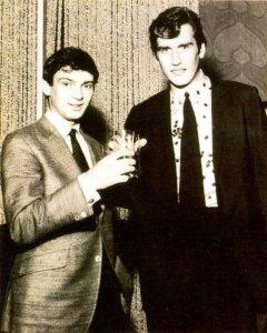 Lorenzo Pilat e Gene Pitney — con Lorenzo Pilat