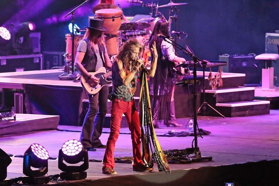 STEVEN TYLER & LOVING MARY BAND a Trieste il 18.07.18