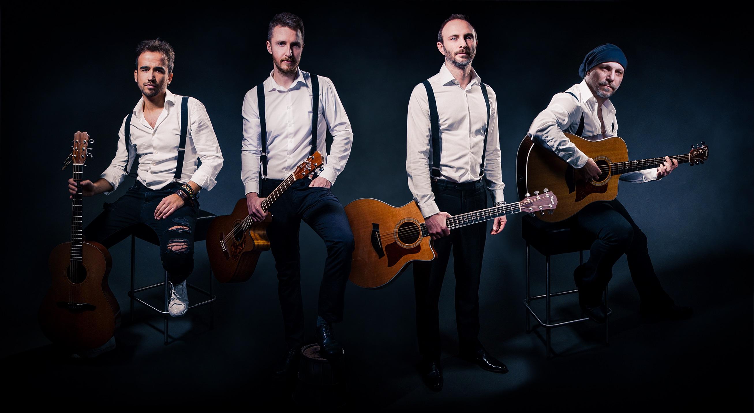 Intervista 40 Fingers Guitar Quartet il 06.04.19 al Bobbio (Ts)