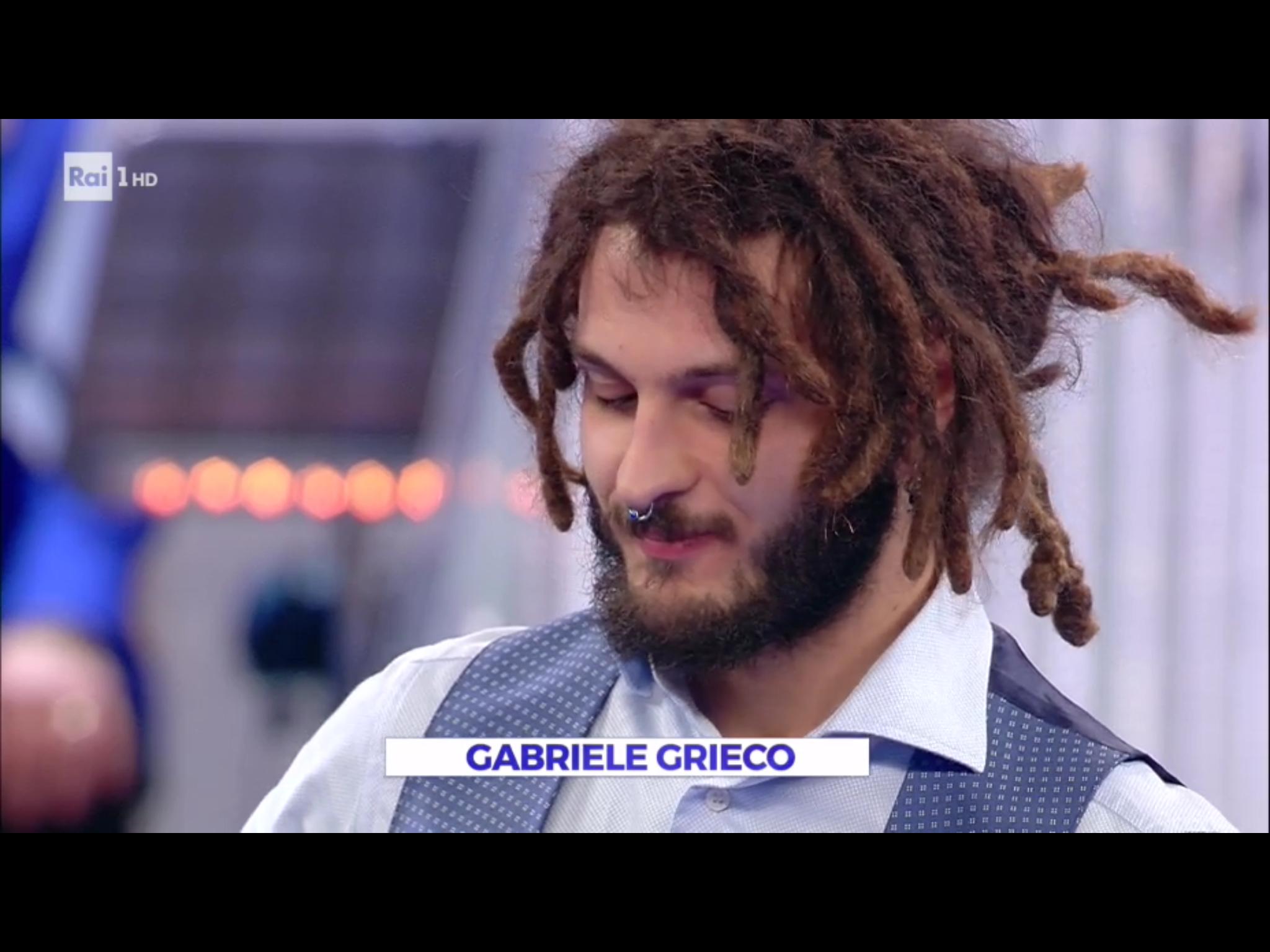 """INTERVISTA GABRIELE GRIECO chitarrista triestino vincitore a """"La Corrida"""" su Rai1"""