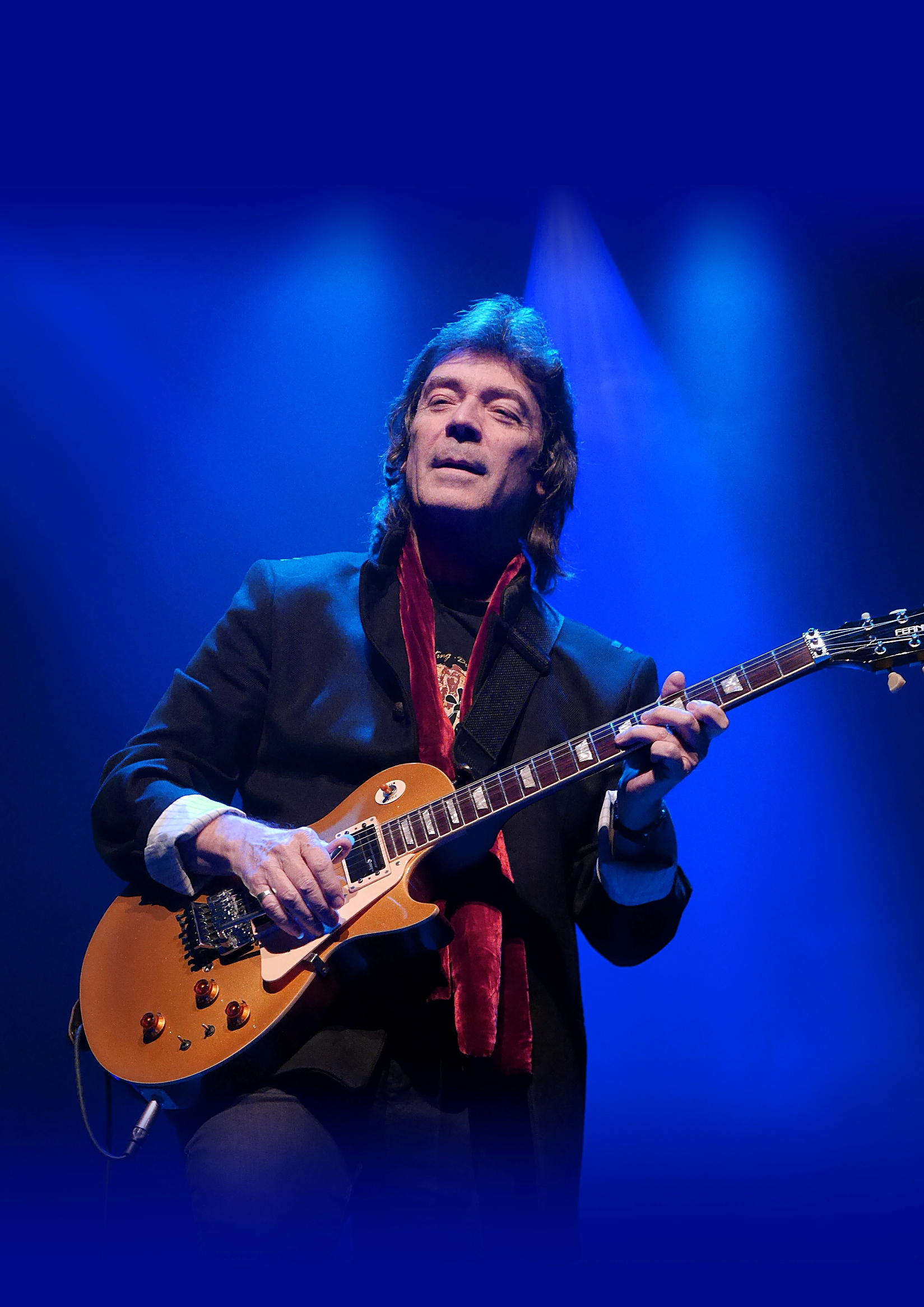 INTERVISTA STEVE HACKETT a Pordenone Blues il 16.07.19